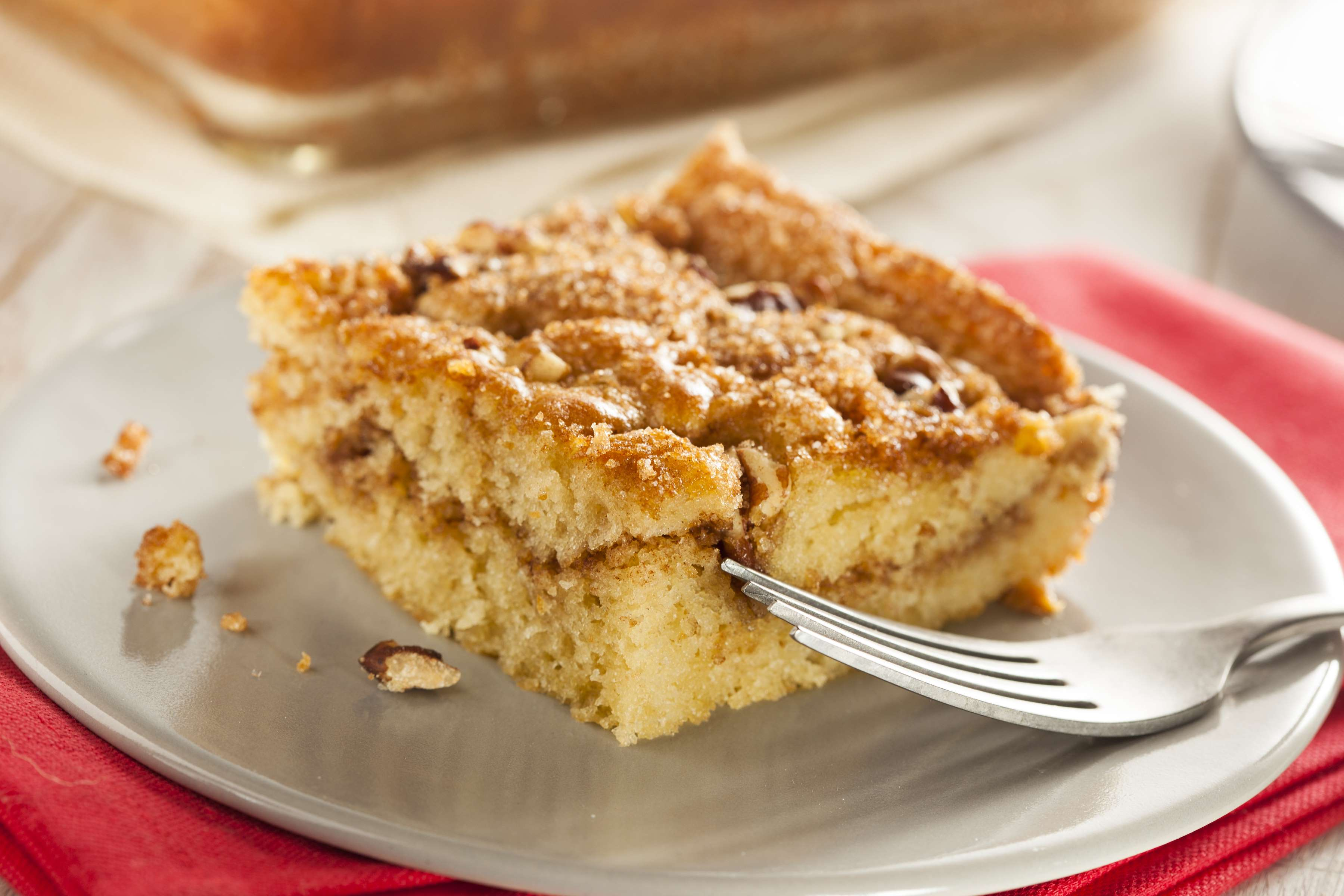 Sour Cream Coffee Cake Recipe | RecipeSavants.com