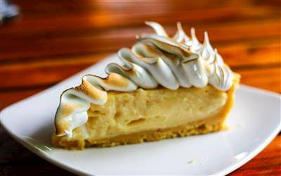 Southern Orange Meringue Pie Recipe