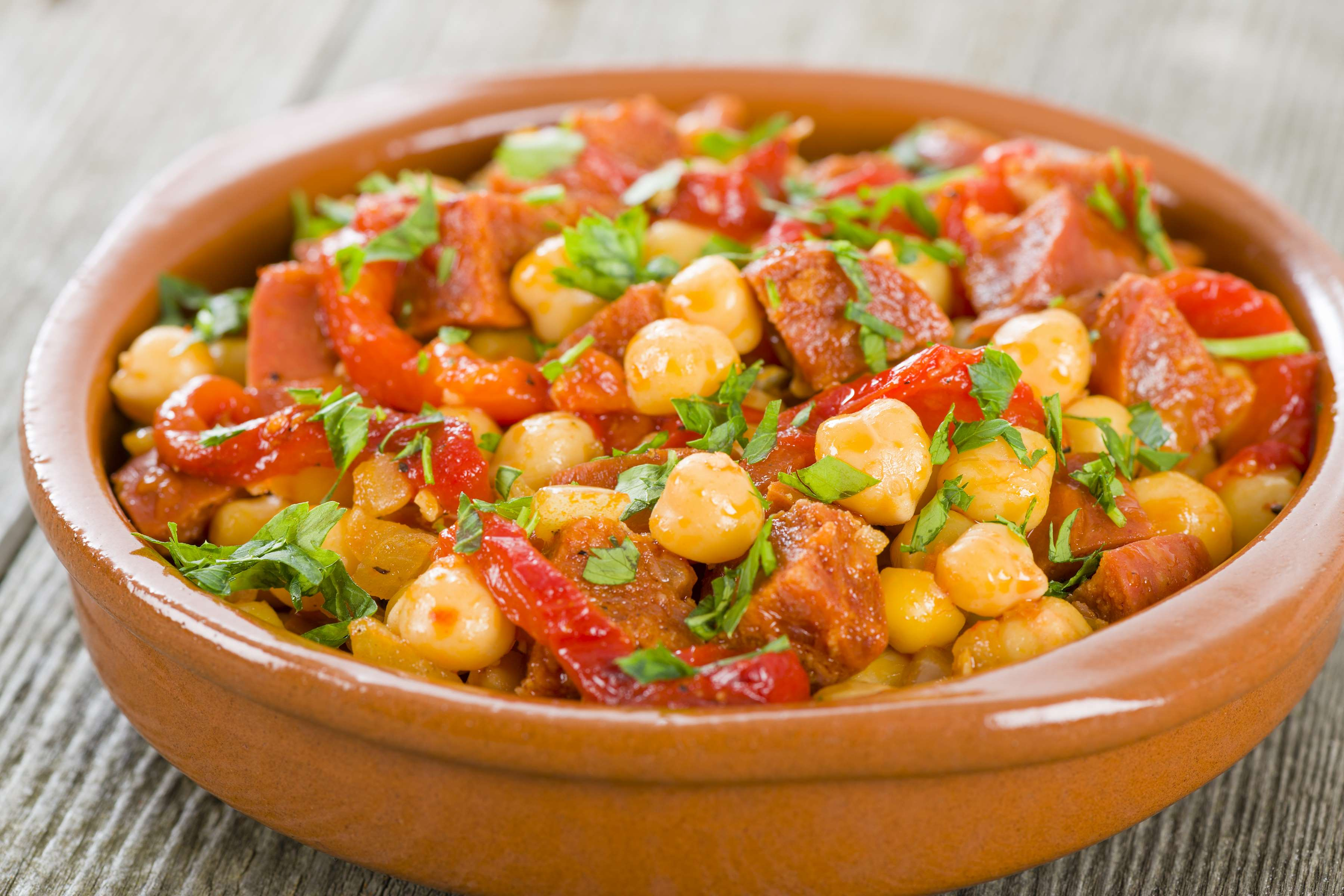 Spanish Bean Stew With Chorizo Recipe | CHEFBear.net
