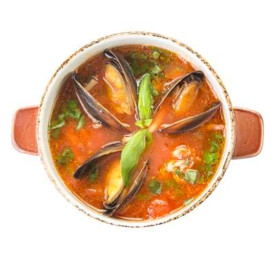 RecipeSavants - Spanish Seafood Chowder