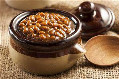 Spicy Baked Beans With Bacon Recipe