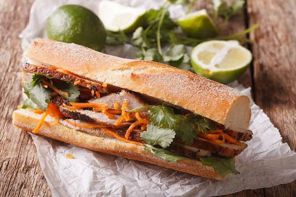 Spicy Vietnamese Chicken Bahn Mi Recipe