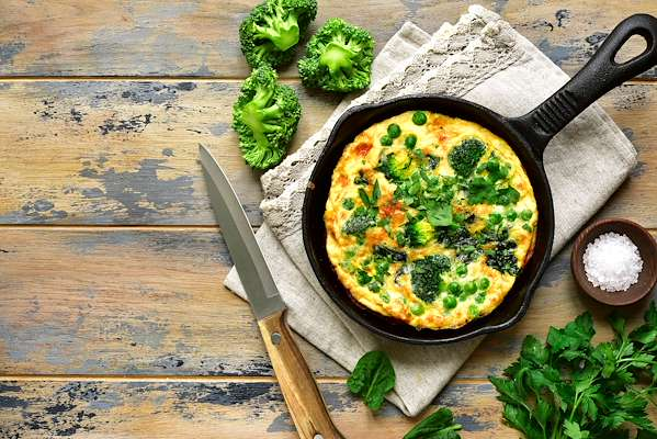 ChefBear Complete Meals - spring vegetable frittata