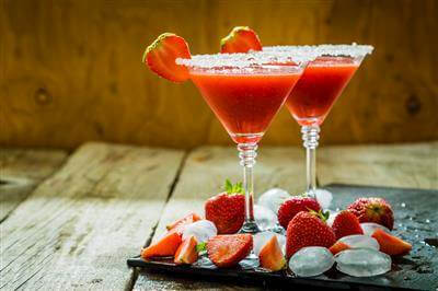 RecipeSavants - Strawberry Margaritas