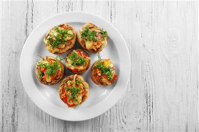 RecipeSavants - Stuffed Mushrooms
