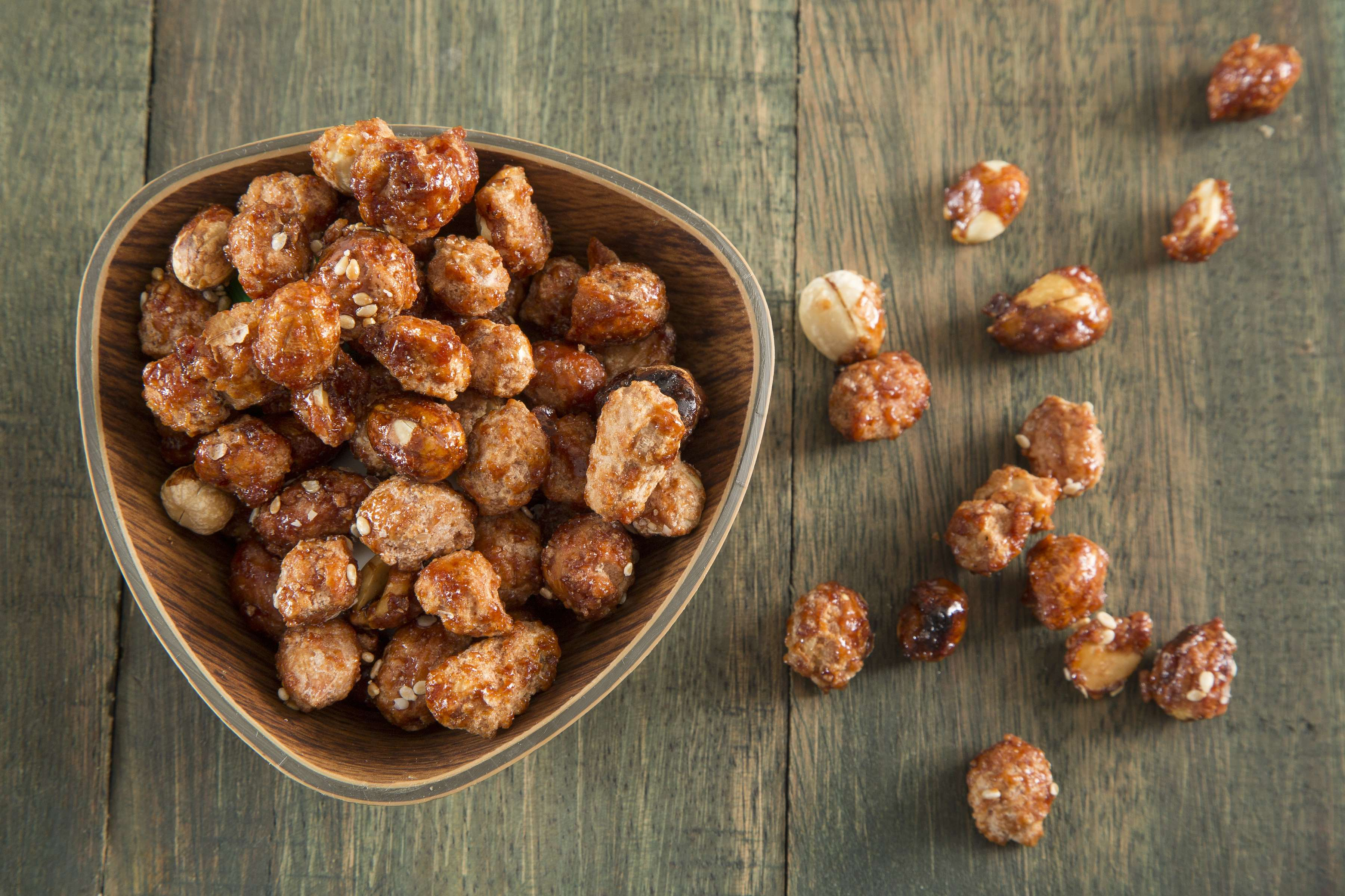 Sugared Nuts Recipe