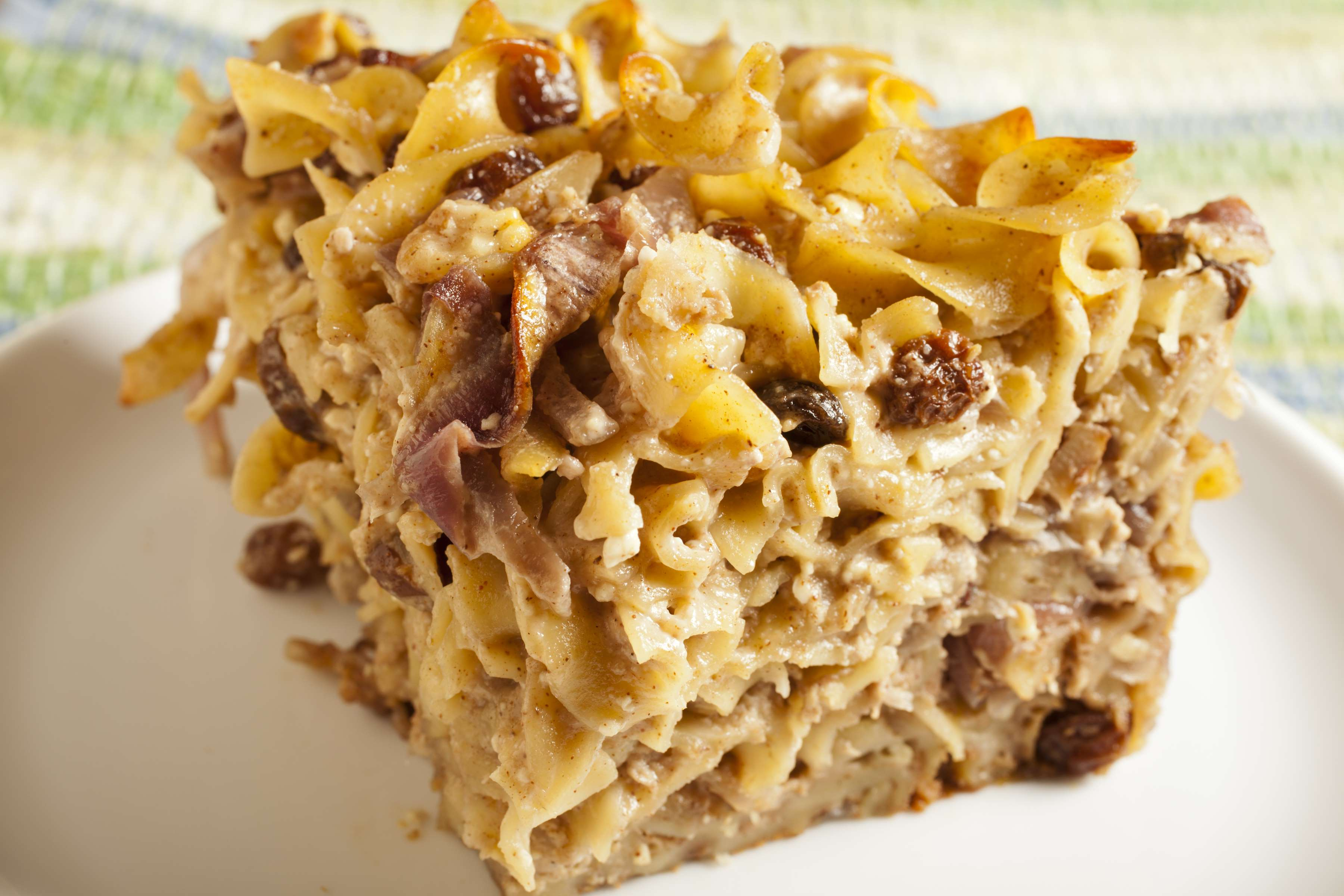 Sweet Cottage Cheese Kugel Recipe | RecipeSavants.com