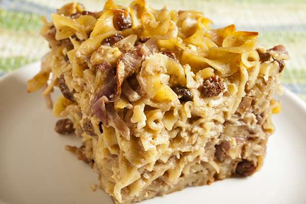 ChefBear Complete Meals - sweet cottage cheese kugel