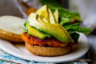 Sweet Potato Burgers Recipe