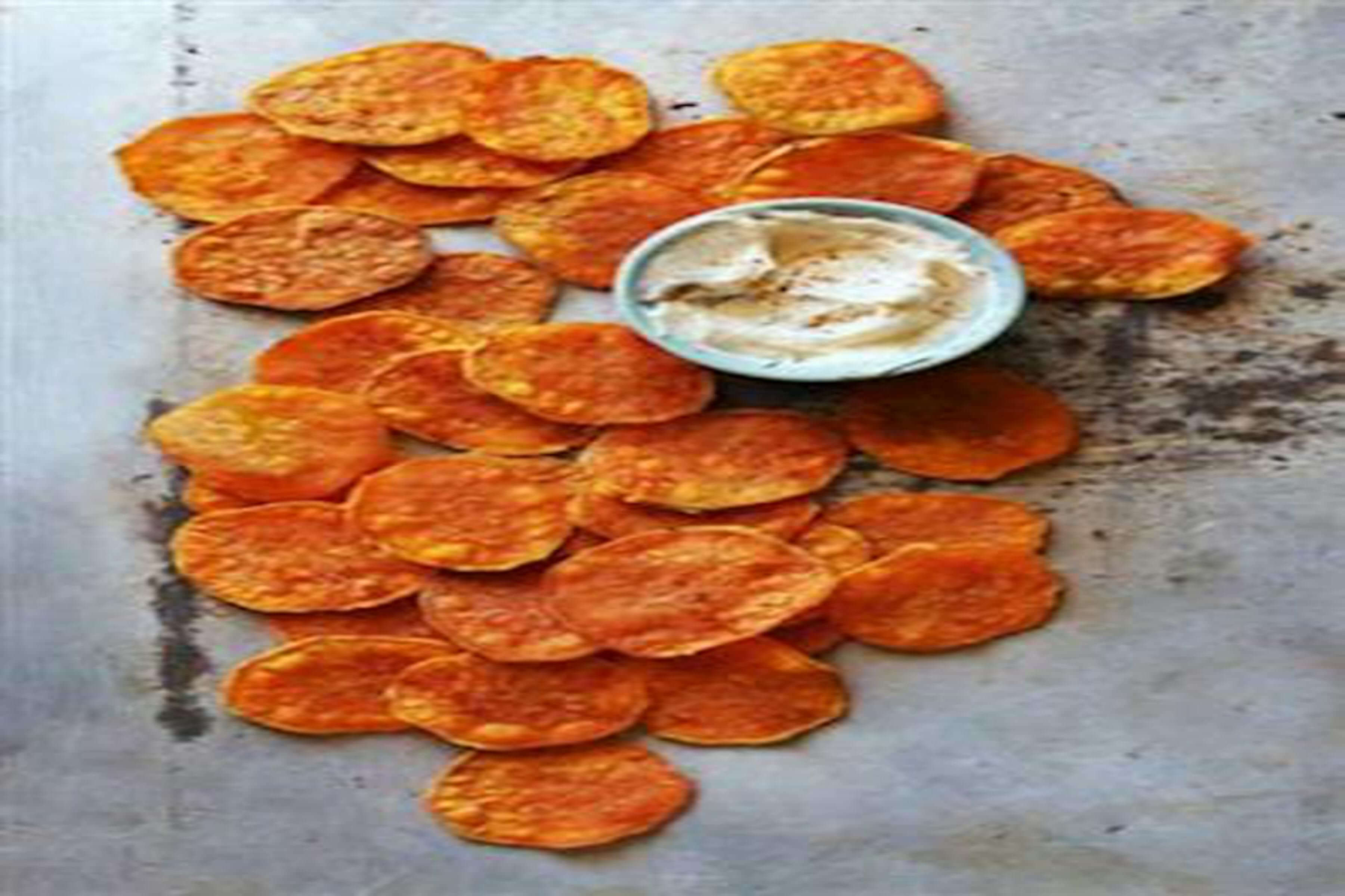 Sweet Potato Chips Recipe | RecipeSavants.com