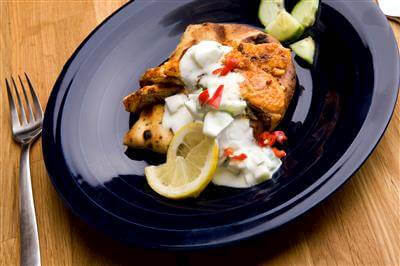Tandoori Salmon Recipe