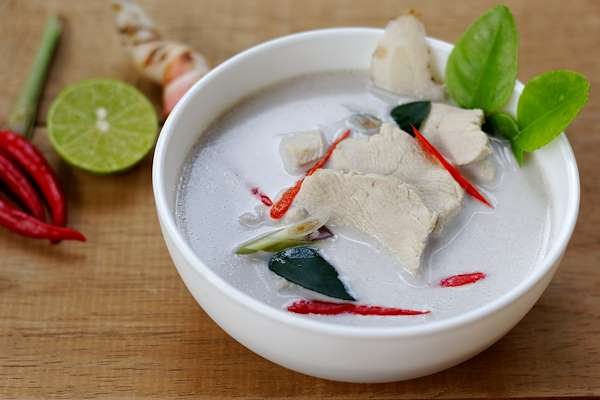 ChefBear Complete Meals - thai coconut-chicken soup (tom ka gai)