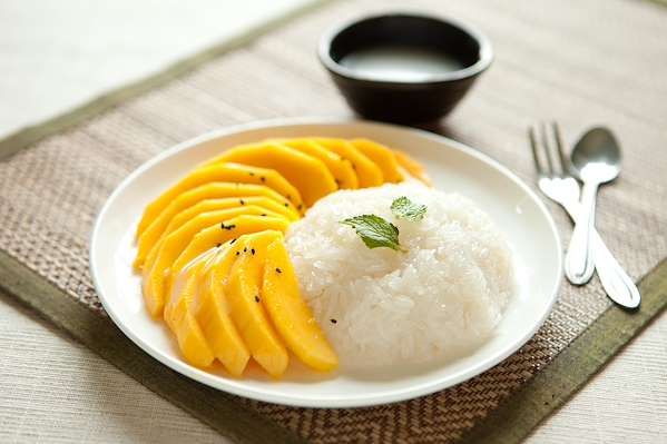 ChefBear Complete Meals - thai-style sweet sticky rice & mango
