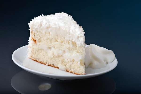 RecipeSavants - Toasted Coconut Cream Cake