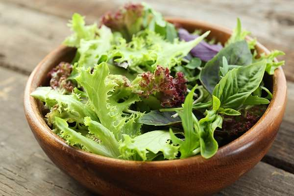 Tossed Green Salad With Coffee-Infused Dressing Recipe