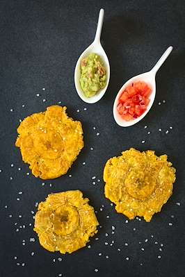 Recipe Savants - Tostones (Fried Plantain)