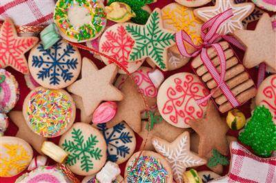 Traditional Decorated Christmas Cookies Recipe