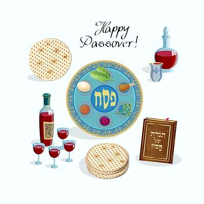 3 Course Meal Plan - Traditional Yet Modern Passover Supper
