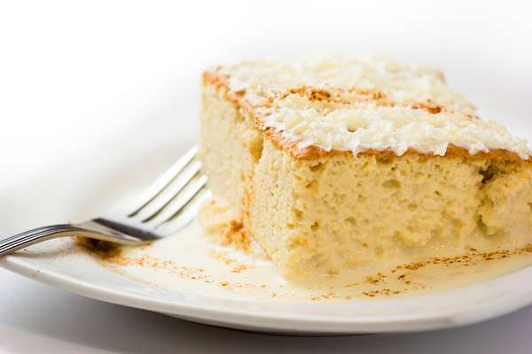 Recipe Savants - Tres Leche Cake