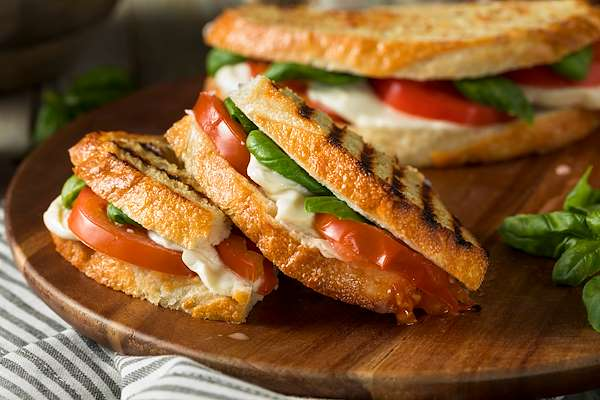 Recipe Savants - Vegan Classic Italian Panini