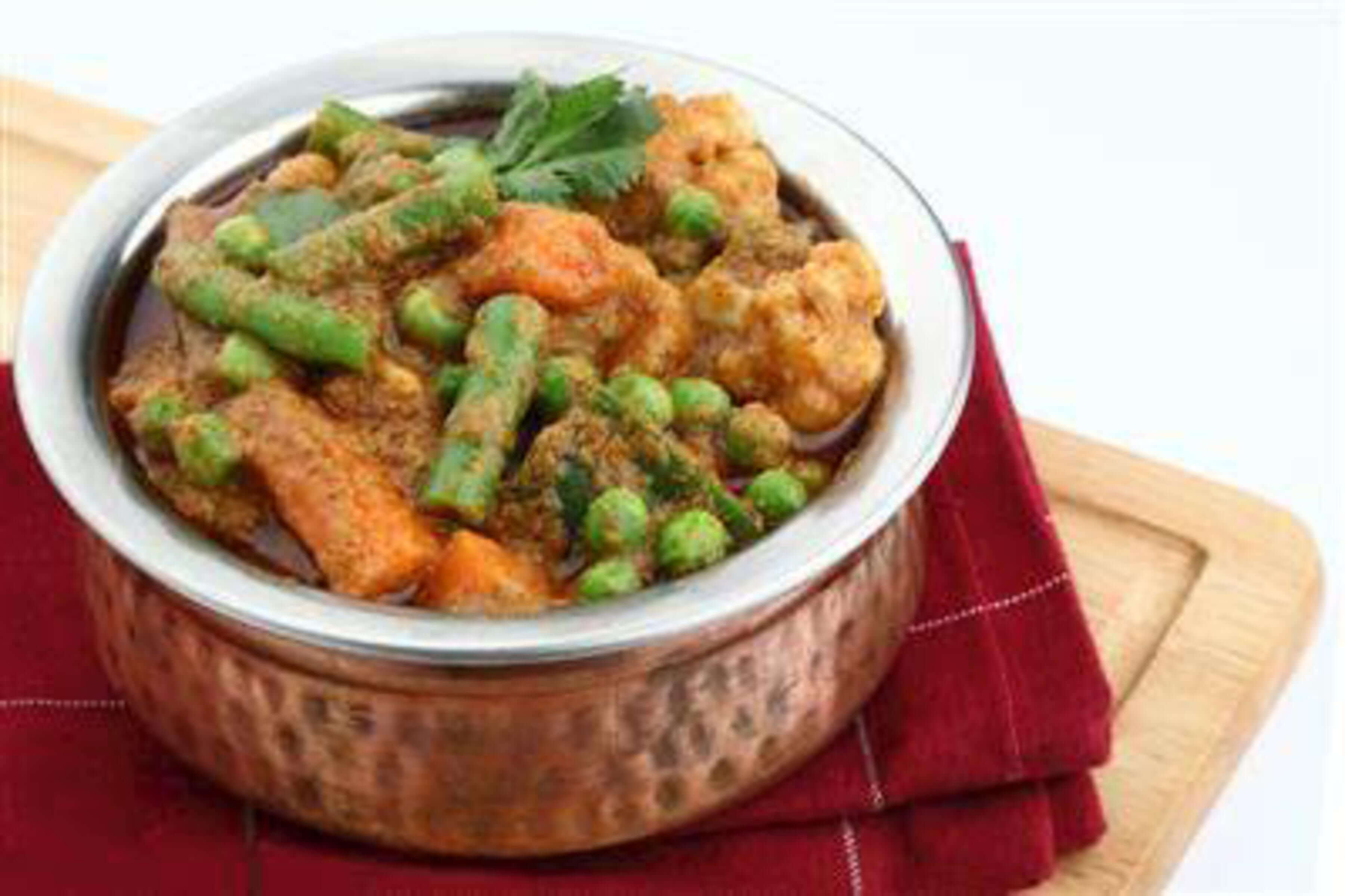 Vegetable Curry Recipe | RecipeSavants.com