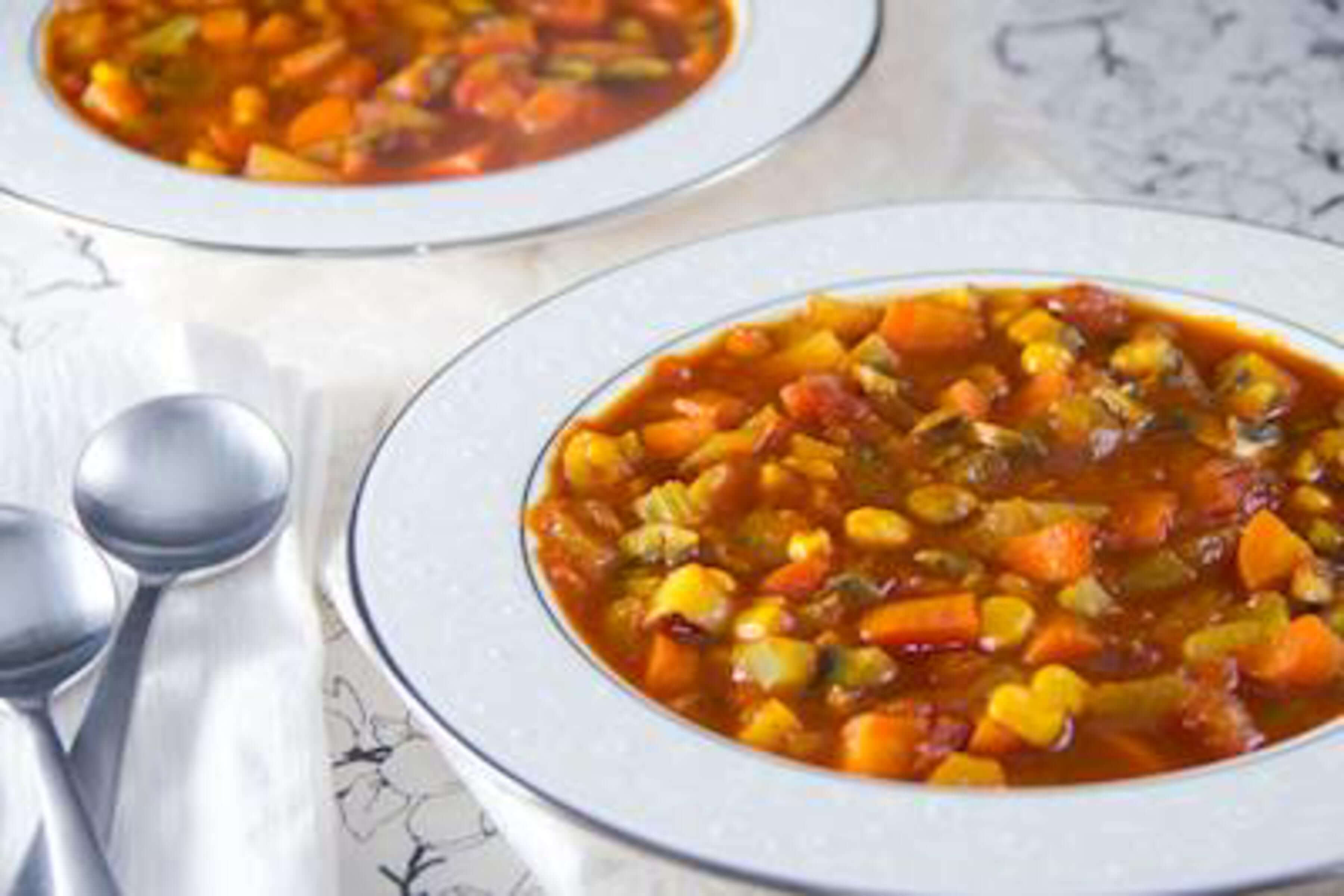 Vegetable Soup Recipe | RecipeSavants.com