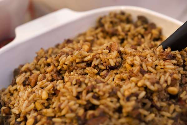 RecipeSavants - Wild Rice Stuffing