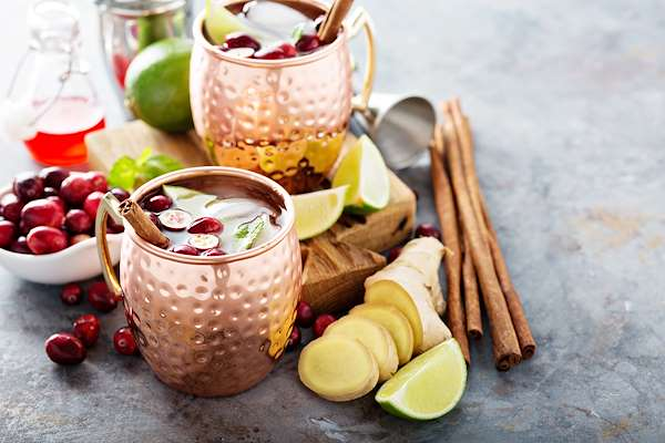 Winter Mule Cocktail Recipe