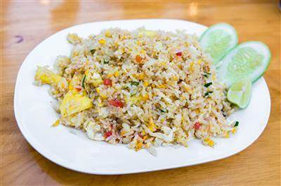 Yunnan Style Pineapple Fried Rice Recipe