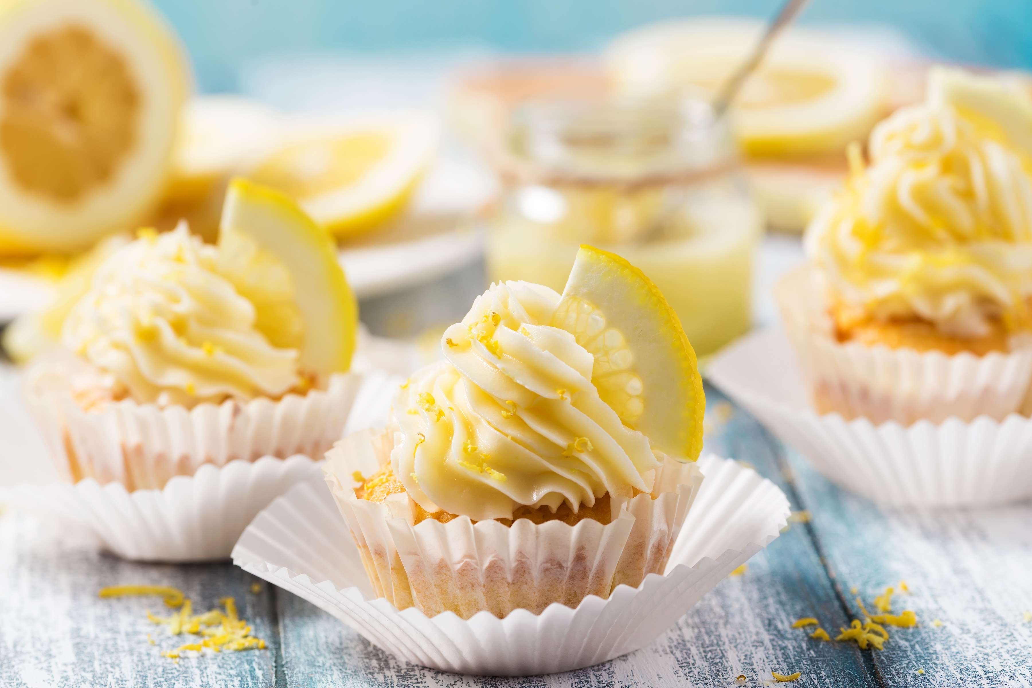 Zesty Lemon Cupcakes Recipe | RecipeSavants.com
